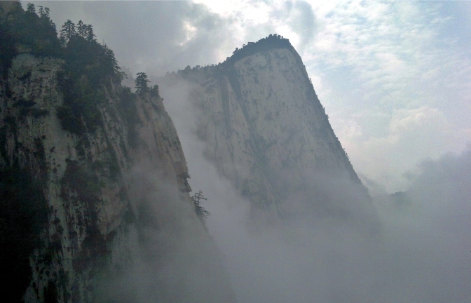 You can overdo it sometimes (Mount Hua)