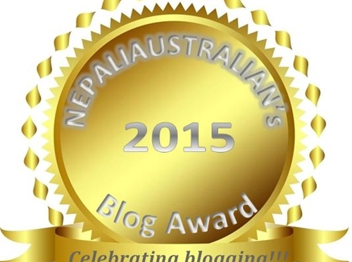 NEPALIAUSTRALIAN's Blog Award 2015 WINNERS