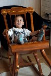 Loving the rocking chair
