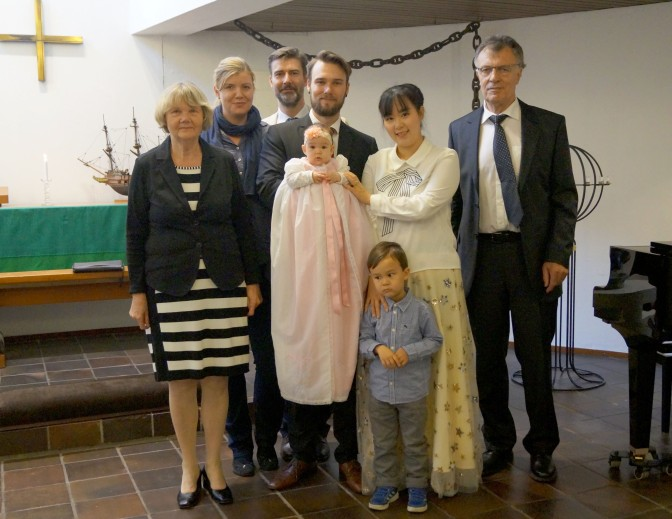 Our Daughter's Baptism