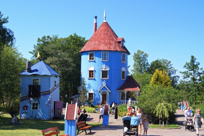 Helsinki, Moominworld and Brahehus